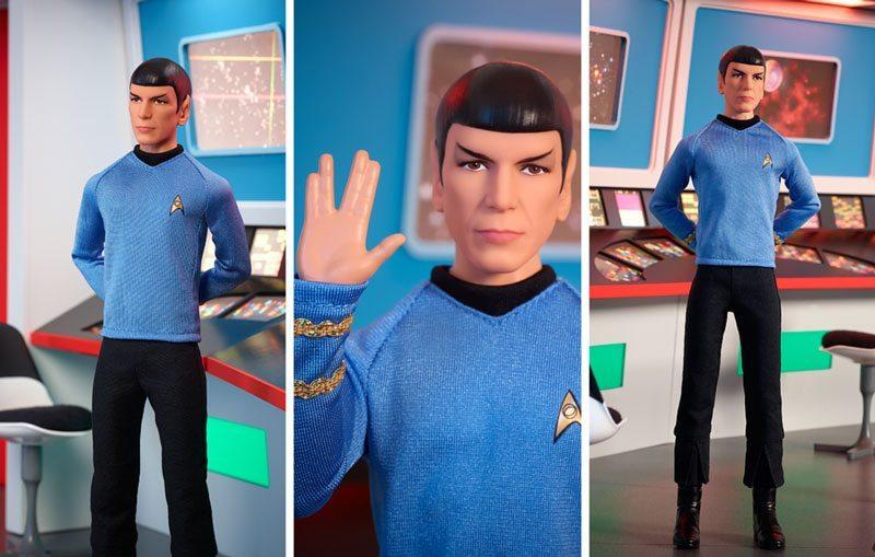 Star Trek Barbie Doll of Spock