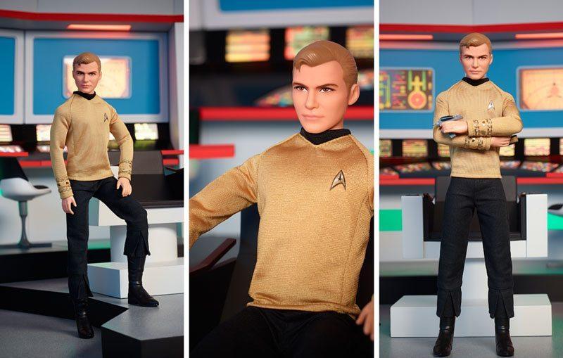 Star Trek Barbie Doll from Kirk
