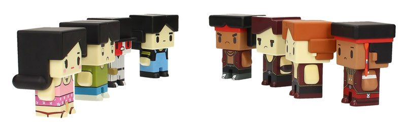 The Warriors Pixel Figures from SDToys