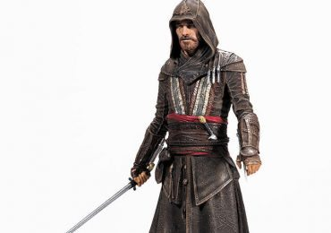 Assassin's Creed movie action figure of Aguilar