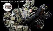 ThreeZero Reports Production Started on Titanfall IMC Ogre Figure