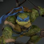 New Sideshow TMNT Statue for Leonardo