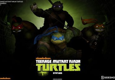 New Sideshow TMNT Statue Line