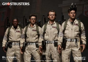Blitzway Classic Ghostbusters Action figures, team lineup