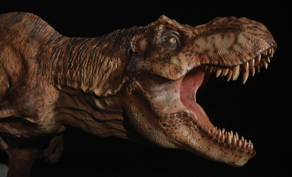 Chronicle Collectibles Breakout Jurassic Park T-Rex statue