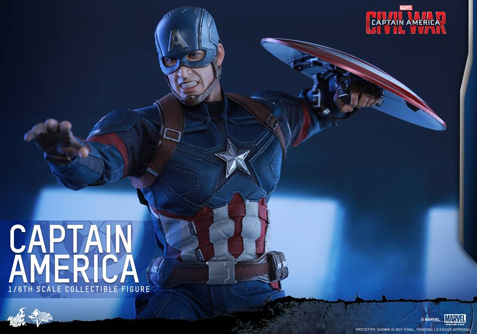 Hot Toys Captain America: Civil War figure