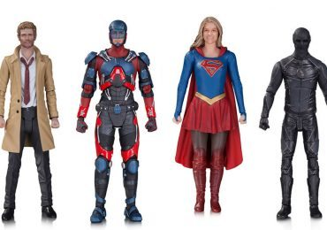 CW DC TV Series action figures