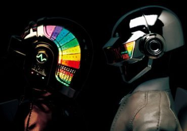 Discovery themed Daft Punk action figures from Medicom