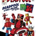 Diamond Select SDCC 2016 Exclusives - Deadpool minimates comic