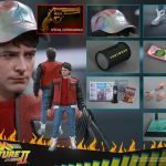 Sixth Scale Hot Toys Back to the Future 2 action figures - Marty McFly exclusive accessories