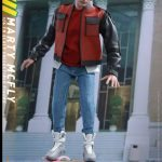 Sixth Scale Hot Toys Back to the Future 2 action figures - Marty McFly