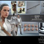 Force Awakens Hot Toys Rey Action Figure - accessories