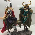Kotobukiya Lady Thor Bishoujo Statue with Loki