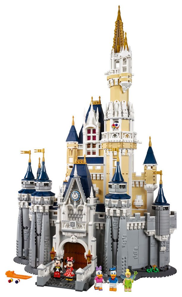 The Lego Disney Castle Delivers
