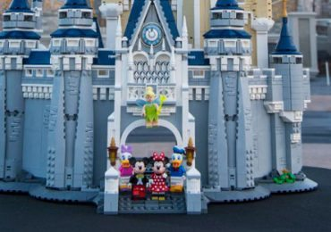 The LEGO Disney Castle