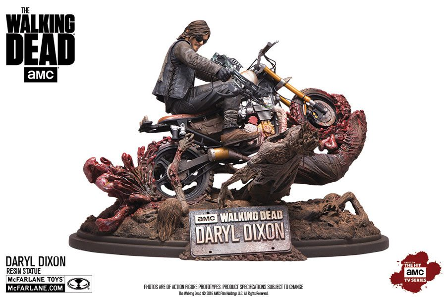 Walking Dead collectibles - McFarlane Toys The Walking Dead Daryl Dixon resin statue