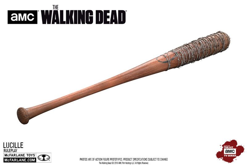 Walking Dead collectibles - McFarlane Toys The Walking Dead Negan's Bat Lucille replica