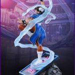 Pop Culture Shock Sixth Scale Street Fighter 5 Chun-Li Statue, blue version