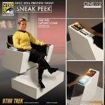 Captains Chair - Mezco One:12 Collective Previews Action Figures