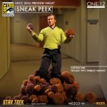 Captain Kirk and Tribbles - Mezco One:12 Collective Previews Action Figures