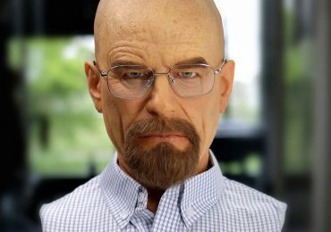 Life Size Walter White bust from Supacraft