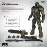 3A DOOM Marine action figure, exclusive version