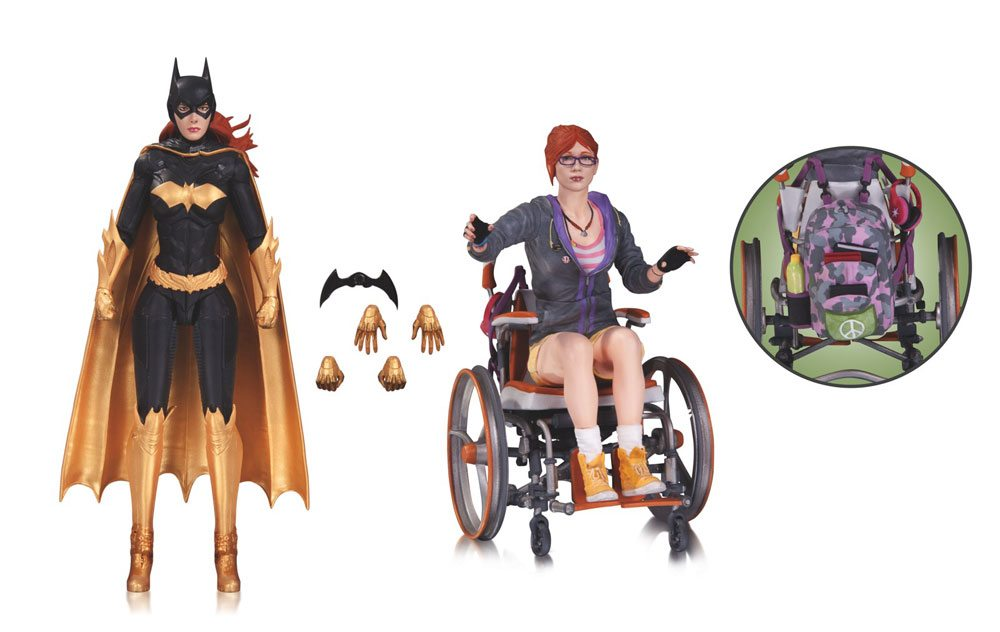 DC Collectibles Oracle and Batgirl Action Figure 2-Pack