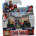 Diamond Select Toys August 2016 Releases - Captain America Cilvil War Minimates, agent 13 and merc