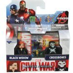 Diamond Select Toys August 2016 Releases - Captain America Cilvil War Minimates, Black Widow and Crossbones