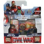 Diamond Select Toys August 2016 Releases - Captain America Cilvil War Minimates, Iron Man and Captain America