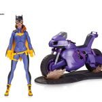 DC Collectibles Burnside Batgirl Action Figure, with motorcycle