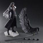 Play Arts Kai Sephiroth action figure, FFVII Advent Children, accessories