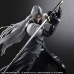 Play Arts Kai Sephiroth action figure, FFVII Advent Children