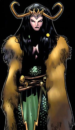 Lady Loki as seen in Marvel Comics