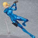 Good Smile Company Metroid: Other M Samus Zero Suit action figure, jumping pose