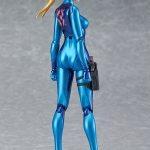 Good Smile Company Metroid: Other M Samus Zero Suit action figure, side view