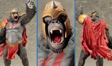 New 10 Inch Gorilla Grodd Statue from Kotobukiya!