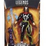 BAF Dormammu Marvel Legends Doctor Strange action figures, Brother Voodoo packaging