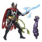 BAF Dormammu Marvel Legends Doctor Strange action figures, Brother Voodoo accessories