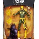 BAF Dormammu Marvel Legends Doctor Strange action figures, Iron Fist packaging