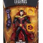 BAF Dormammu Marvel Legends Doctor Strange action figures, New Duds Strange packaging