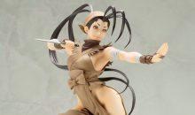 Kotobukiya Releases First Street Fighter Ibuki Bishoujo Statue Images