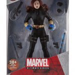 Marvel Ultimate Series Premium Action Figures - Black Widow, packaging