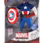 Marvel Ultimate Series Premium Action Figures - Captain America, packaging