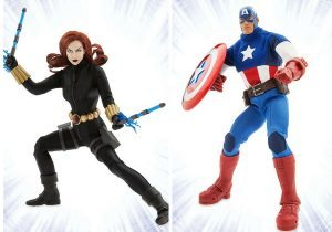 Marvel Ultimate Series Black Widow Premium Action Figure 10 Inch High