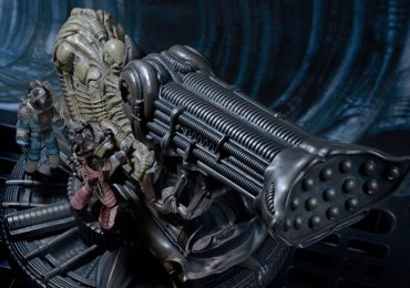 Alien Movie Collectibles - NECA Fossilized Space Jockey Statue