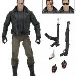 NECA Police Station Assault T-800 action figure, accessories