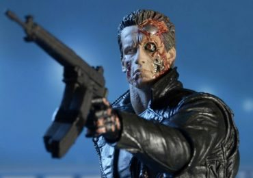 NECA Police Station Assault T-800 action figure