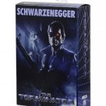 NECA Police Station Assault T-800 action figure, front of packaging