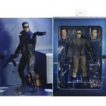 NECA Police Station Assault T-800 action figure, open packaging